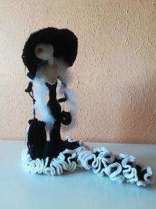 Amigurumi croche Lady